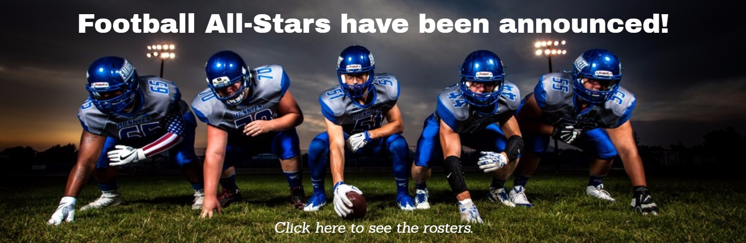 Football All-Stars have been announced!