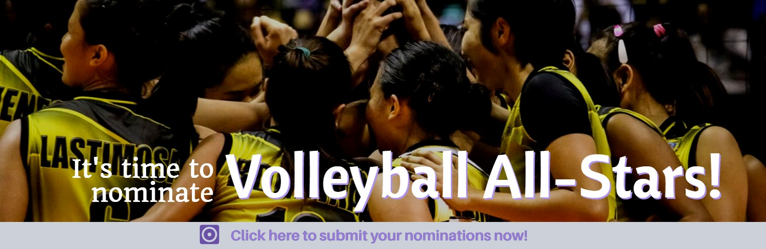 It's time to nominate Volleyball All-Stars!