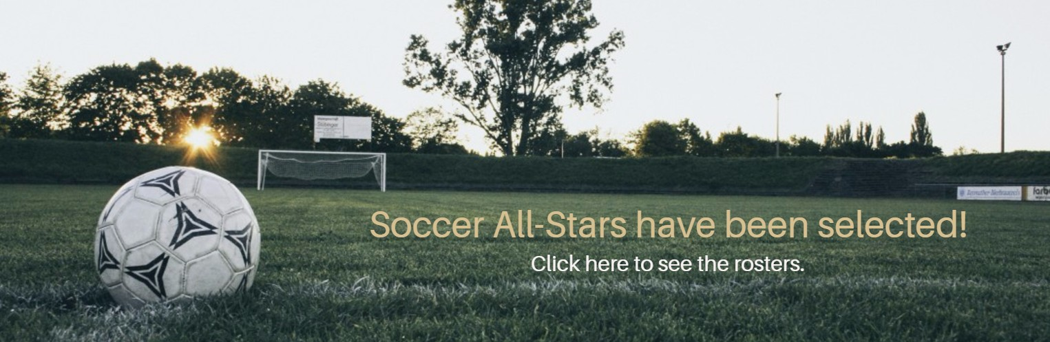 Soccer All-Stars have been selected!